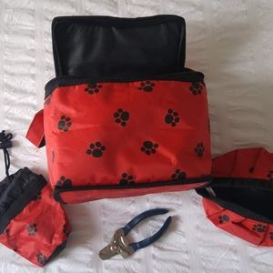 Dogs Cats Pets Grooming Travel Toiletry Bag